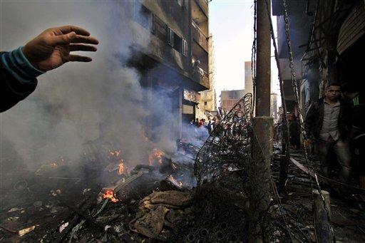 APTOPIX Mideast Egypt Sectarian Clashes 6