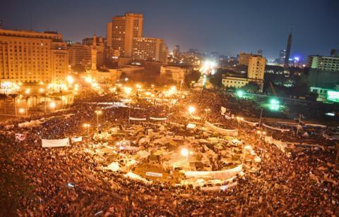 LIghts on Tahrir