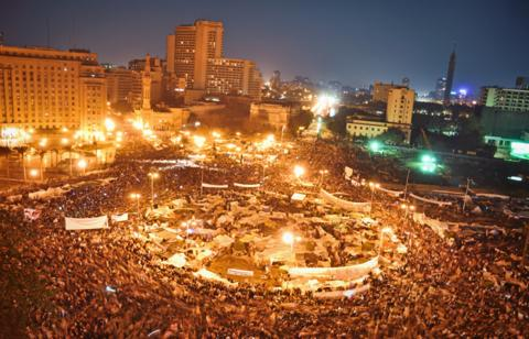 LIghts on Tahrir