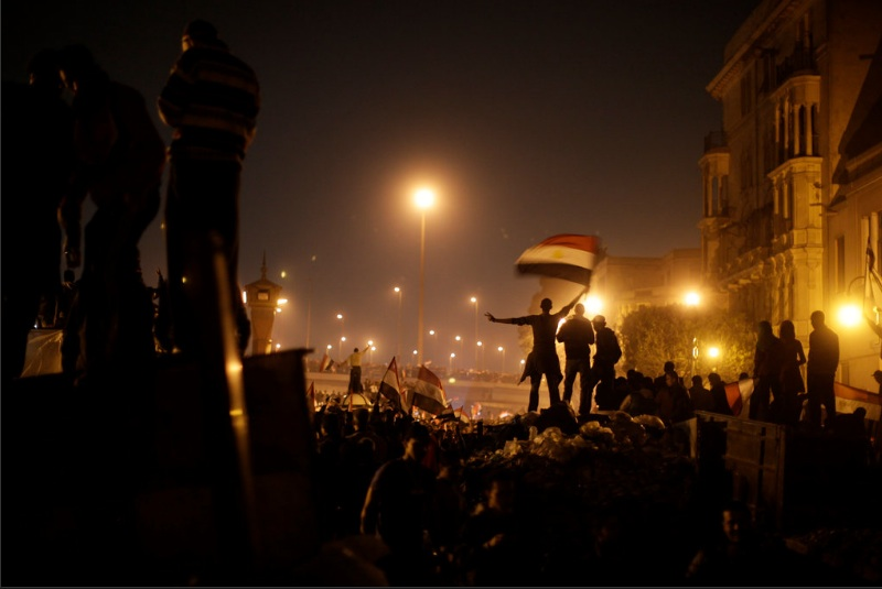 Shot of Art: Ed Ou's 'Revolution', Dispatches from Egyptian Revolution