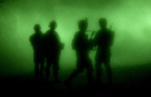US Soldiers, ANP raid bomb-making facilities