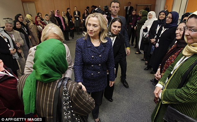 clinton, women, afgh